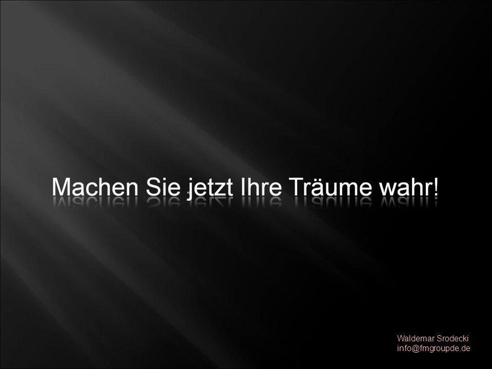 Waldemar Srodecki info@fmgroupde.de
