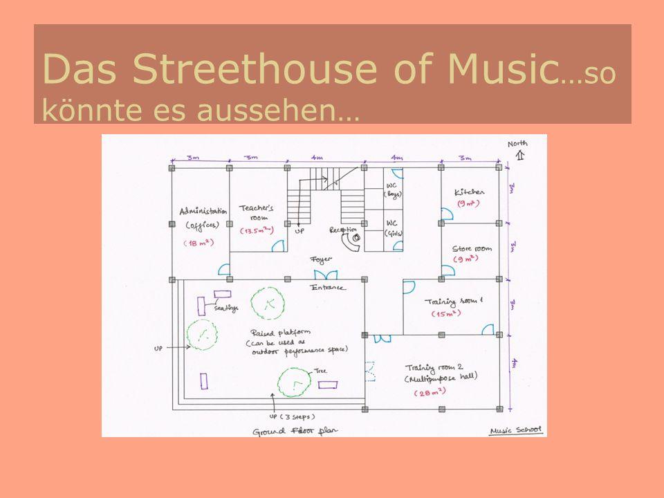 Das Streethouse of Music …so könnte es aussehen…