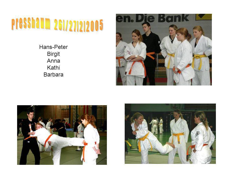 Hans-Peter Birgit Anna Kathi Barbara