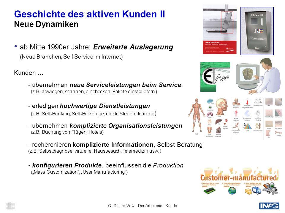 G. Günter Voß – Der Arbeitende Kunde 16 Der Arbeitende Kunde Was ist Crowdsourcing ?