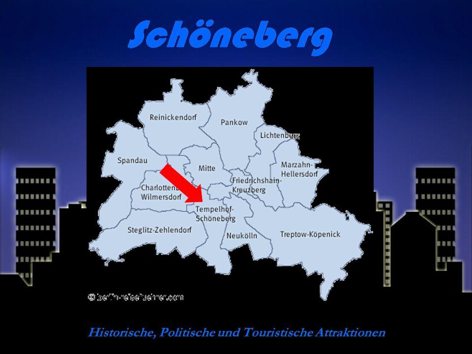 Schöneberg Historische, Politische und Touristische Attraktionen