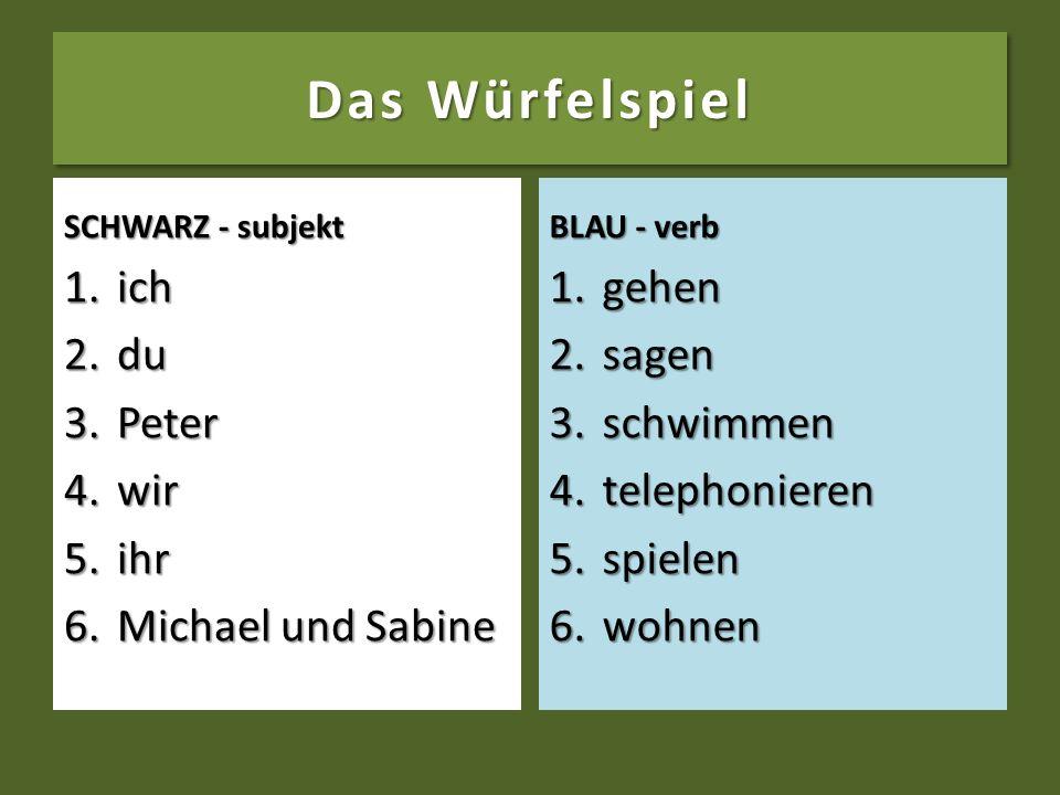 Schreibt die richtigen Forme der Verben in den Lücken. 4. 4.Sie (they) ____________ die großen Fenster des Hauses. (putzen) 5. 5.Woher ____________ du