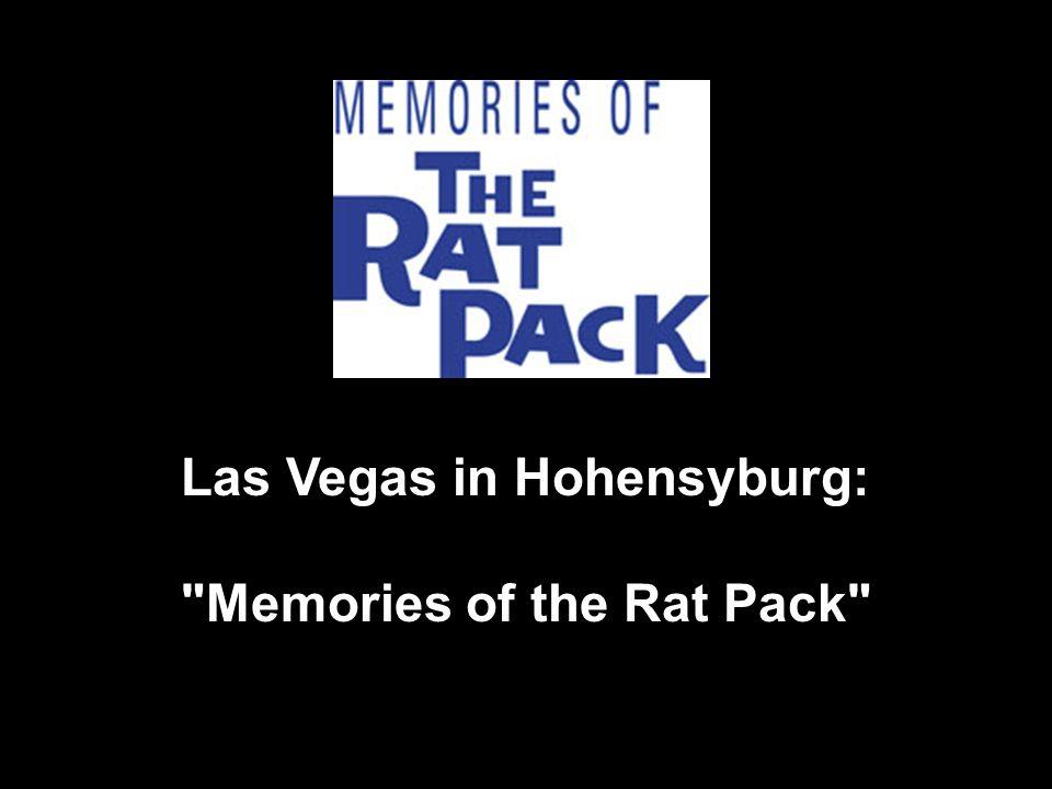 Las Vegas in Hohensyburg: Memories of the Rat Pack