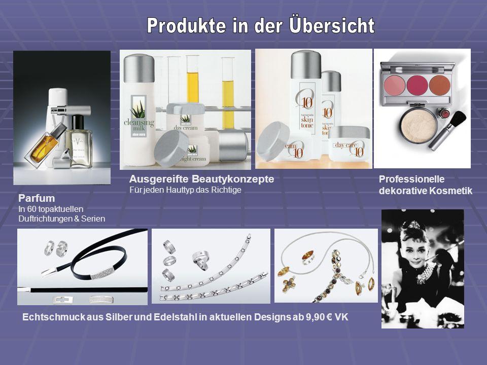 Parfum In 60 topaktuellen Duftrichtungen & Serien Ausgereifte Beautykonzepte Für jeden Hauttyp das Richtige Professionelle dekorative Kosmetik Echtsch