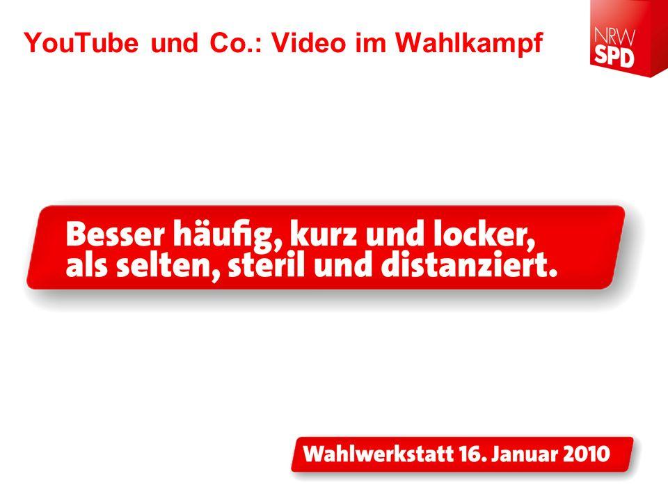 YouTube und Co.: Video im Wahlkampf