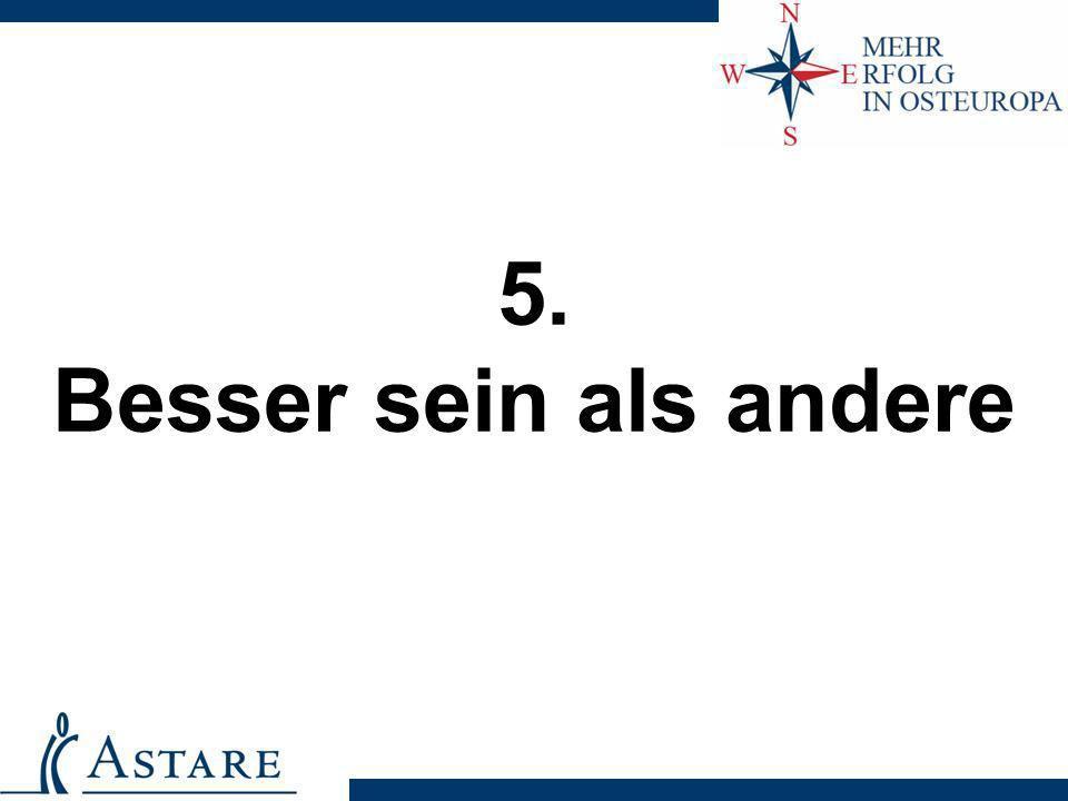 5. Besser sein als andere