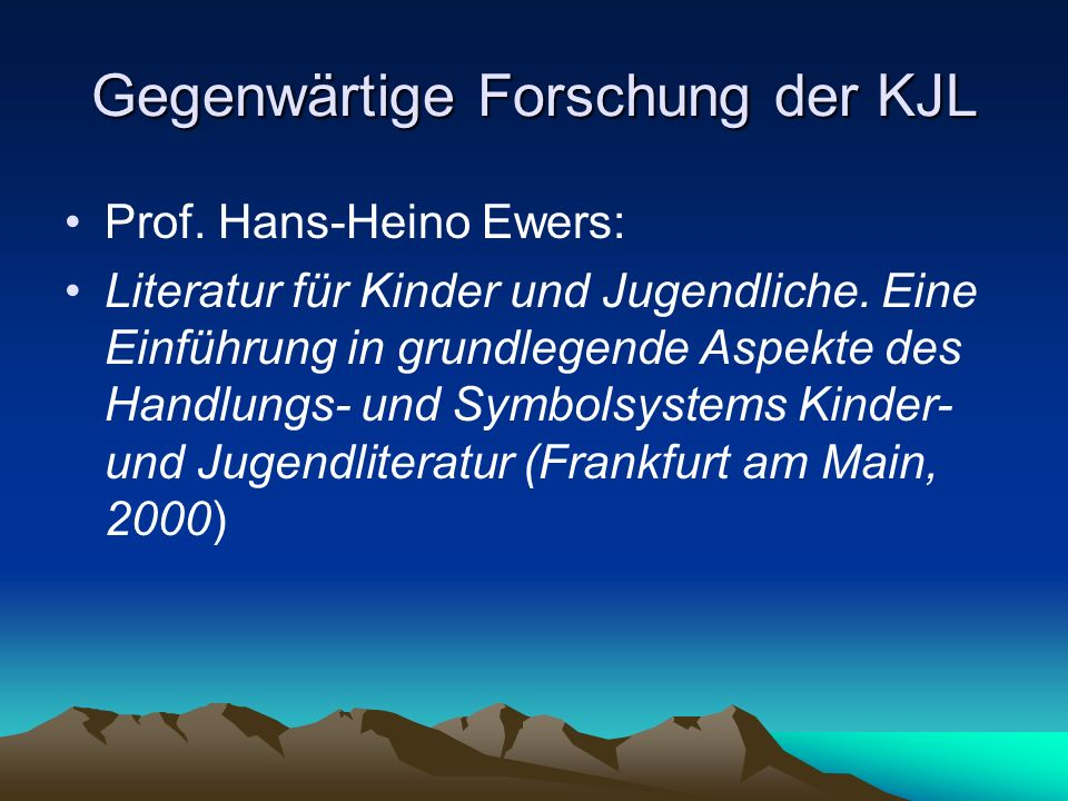 Realistische Großstadtgeschichten Erich Kästner (1899-1974) Neue Sachlichkeit Detektivgeschichten: Emil und die Detektive (1929, Fortsetzung Emil und die drei Zwillinge), Pünktchen und Anton (1931), Das fliegende Klassenzimmer (1933), Das doppelte Lottchen (1949) NS-Zeit: Sein Werk wurde verboten – facit: er bearbeitete Klassiker für Kinder: Erich Kästner erzählt (1938-1961).