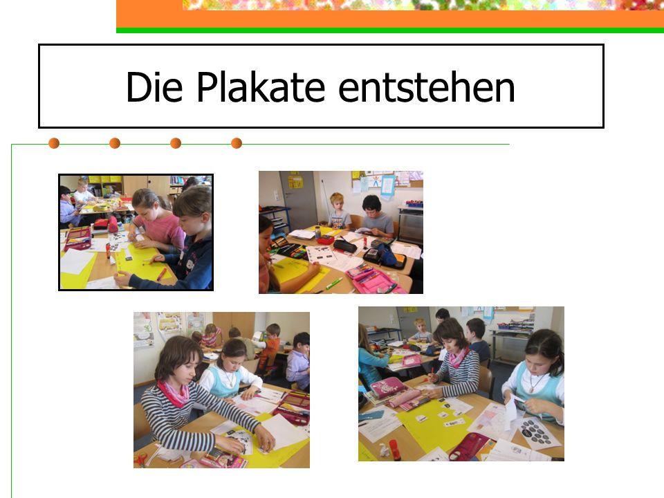Aktionstag 18.04.2013 Wir haben uns in Kleingruppen aufgeteilt und sind in den Klassen und Lerngruppen gegangen.