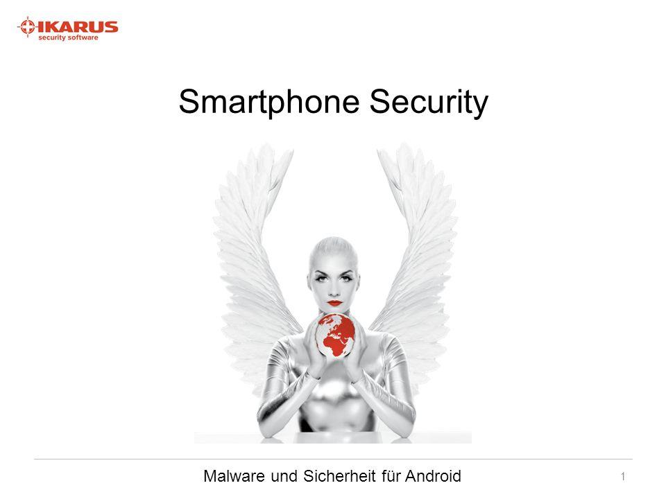 Bedrohungsanalyse Die gleichen Bedrohungen wie beim PC (Trojaner, Adware, Spyware, …) Zusätzlicher Faktor der Mobilität All-in-One – was machen sie alles mit ihrem Smartphone.