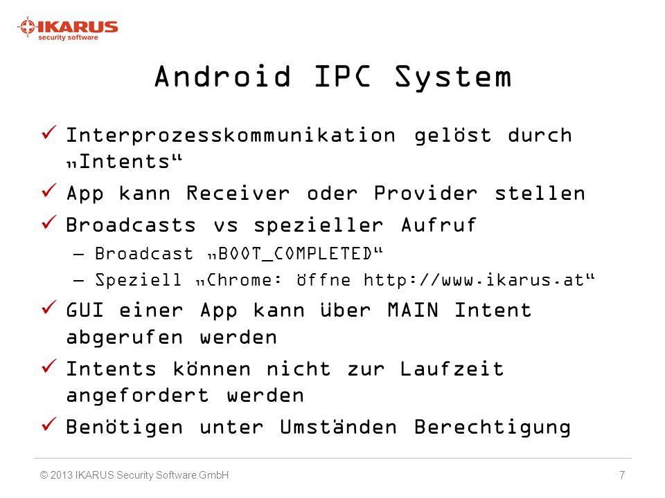 Demo Der Benutzer läd sich auf einer Filesharing Seite die neue Version von Angry Birds herunter 48 © 2013 IKARUS Security Software GmbH