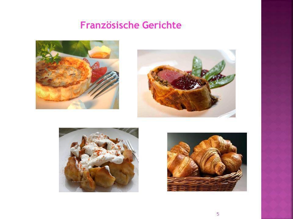 Französische Gerichte 5