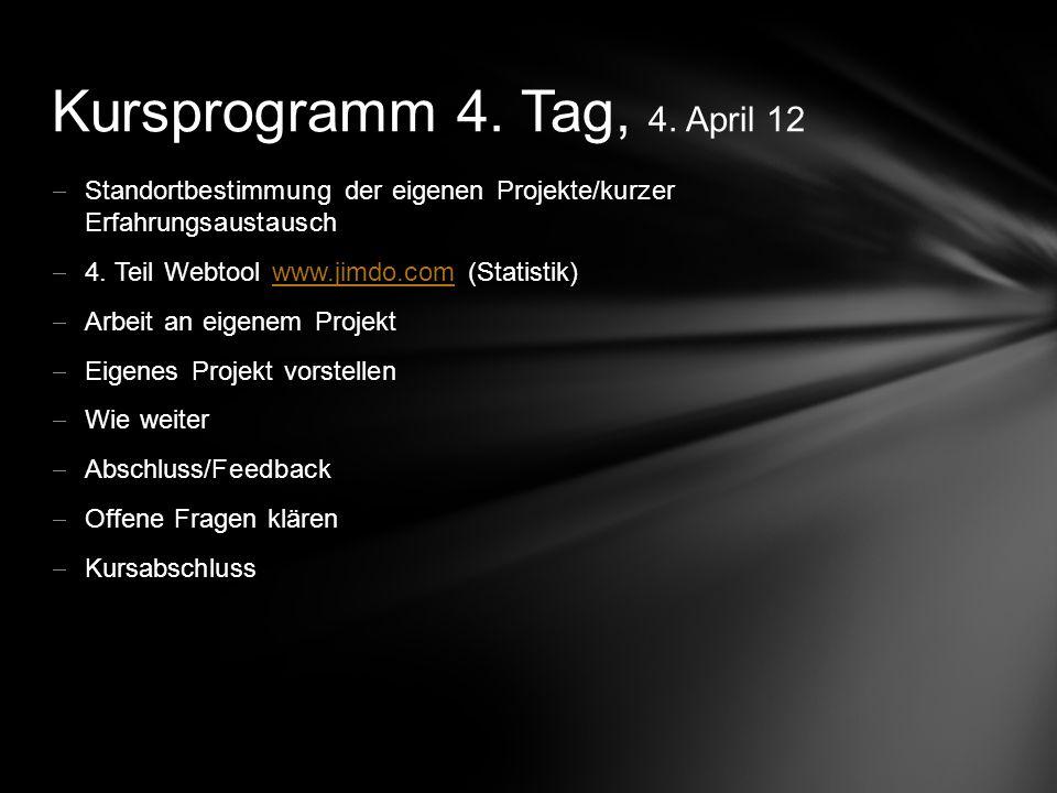 - Vorname/Name/Wohnort/Berufliche Tätigkeit - Erfahrungen mit Computer (Text-, Bildbearbeitung) - Bereits eigene Website.
