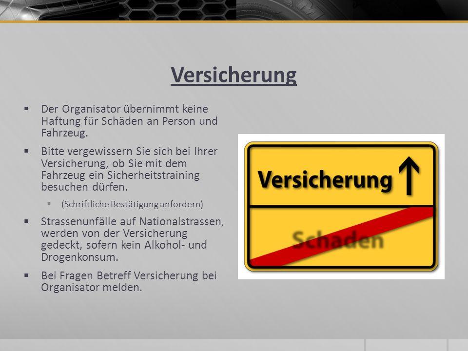 Sehr wichtig -Aus Sicherheitsgründen wird jedes Auto vor der Reise zur einer Sicherheitskontrolle aufgeboten.