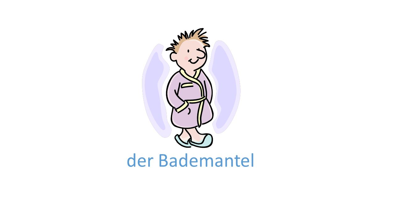 der Bademantel