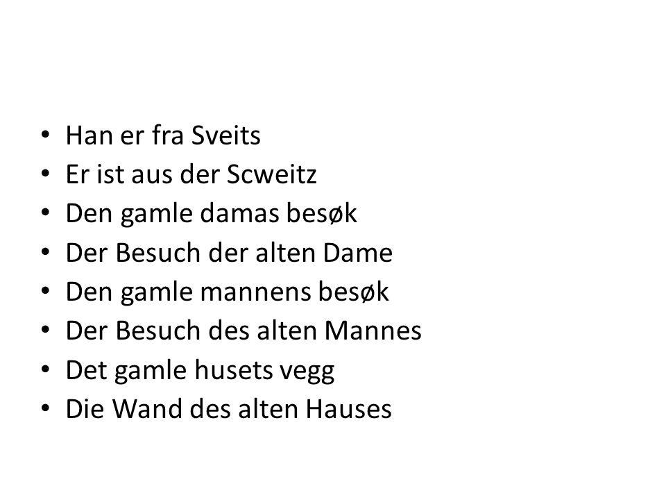 Friedrichs komede Friedrichs Komödie Historia foregår i Sveits Die Geschichte spielt in der Schweiz En dag stopper toget Eines Tages hält das Zug