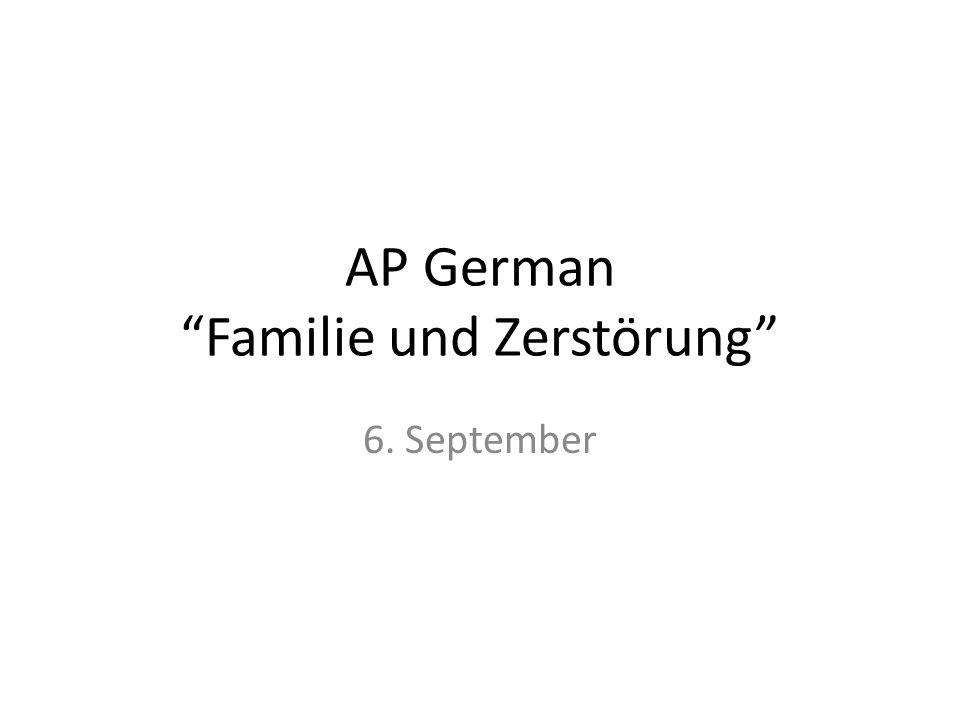 AP German Familie und Zerstörung 6. September