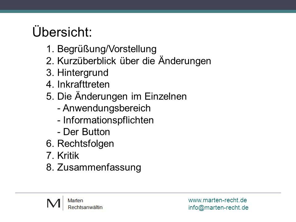 www.marten-recht.de info@marten-recht.de Der Button 2.