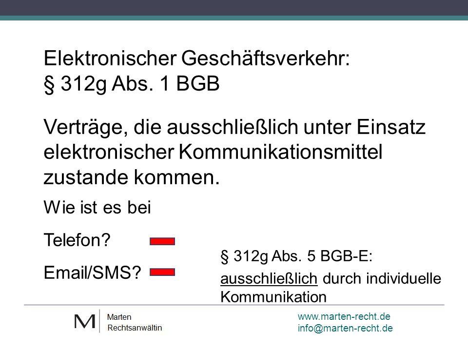 www.marten-recht.de info@marten-recht.de Geht es auch ohne Button.