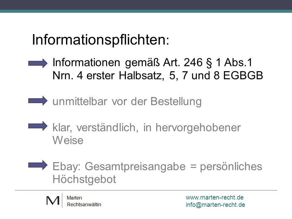 www.marten-recht.de info@marten-recht.de Rechtsfolgen kein Vertrag wettbewerbsrechtliche Abmahnung Strafbarkeit wegen Betrugs (LG Hamburg v.
