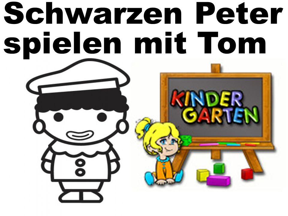 Schwarzen Peter spielen mit Tom
