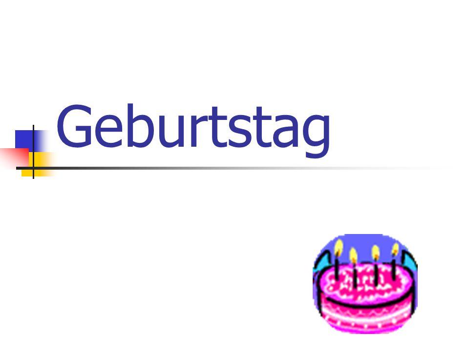 Happy Birthday.Herzlichen Glückwunsch zum Geburtstag.