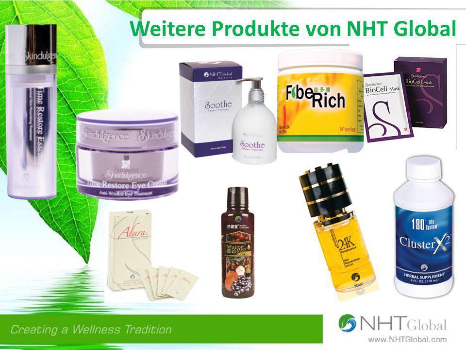 Die bekanntesten Produkte der NHT Global Premium Noni Saft stärkt das Immunsystem Der natürliche Gehalt von Vitaminen, Mineralien, Enzymen, Antioxidantien, Aminosäuren und Bioflavonoiden macht es zu einem einzigartigen Getränk, das das Immunsystem unterstützt.