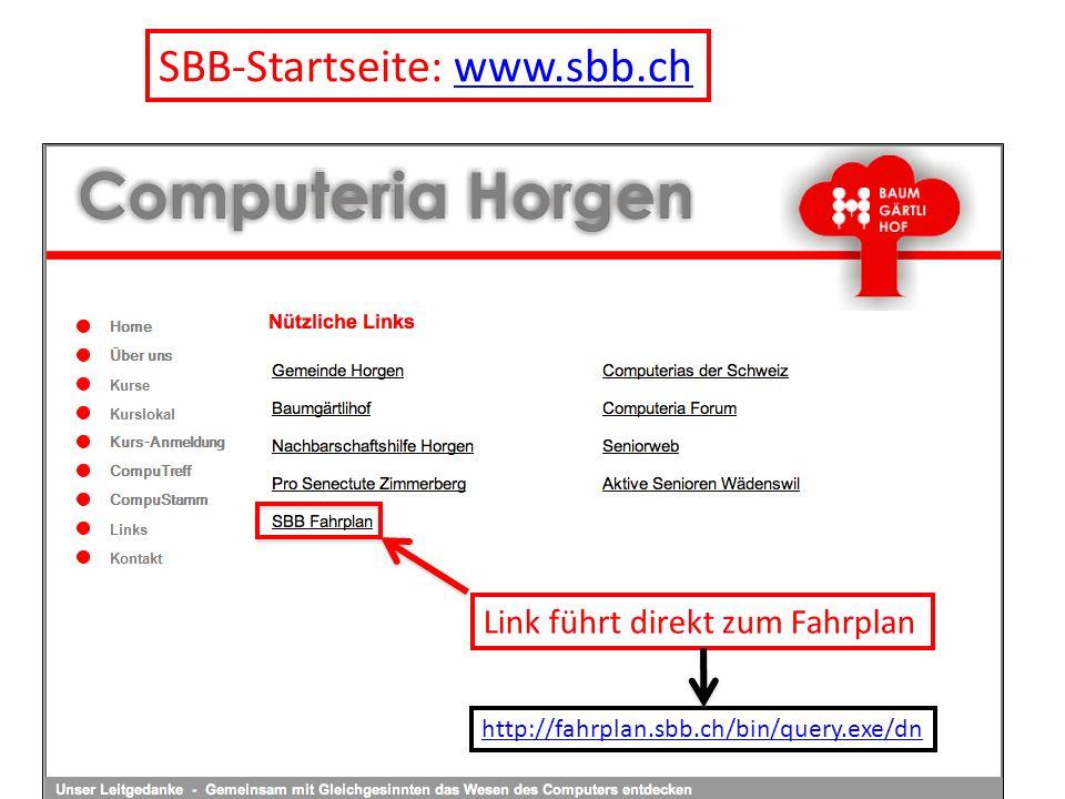 Schlussfolgerungen ZVV-Fahrplan Der ZVV-Fahrplan eignet sich sowohl für den lokalen wie auch für den schweizerischen öV.