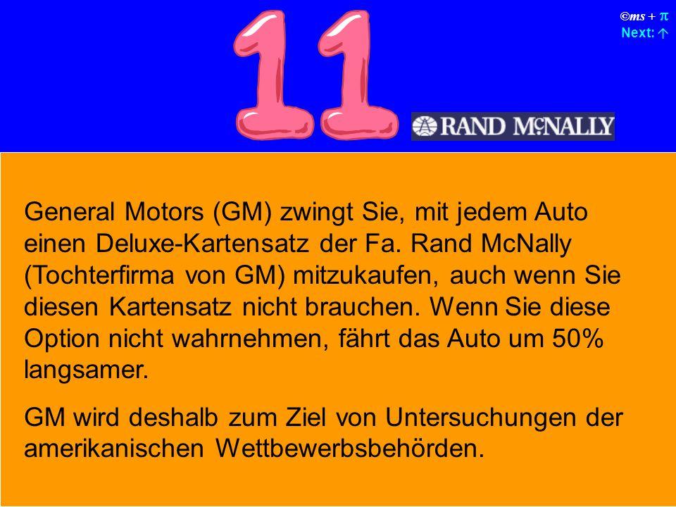 ©ms + Next: Gelegentlich sperrt das Auto Sie ohne jeden erkennbaren Grund aus.