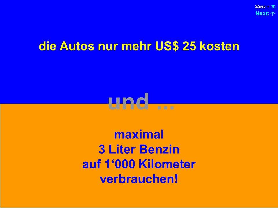 ©ms + Next: Das Airbag-System würde bei jedem Unfall fragen Sind Sie sicher ? bevor es auslöst.