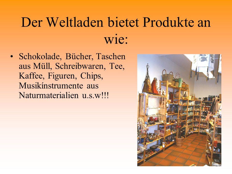 Umfrage bei Schülern/innen unserer Schule, ob sie Produkte kaufen würden, die sie nicht kennen.