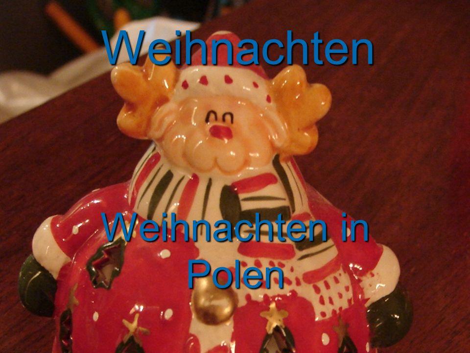 Weihnachten Weihnachten in Polen