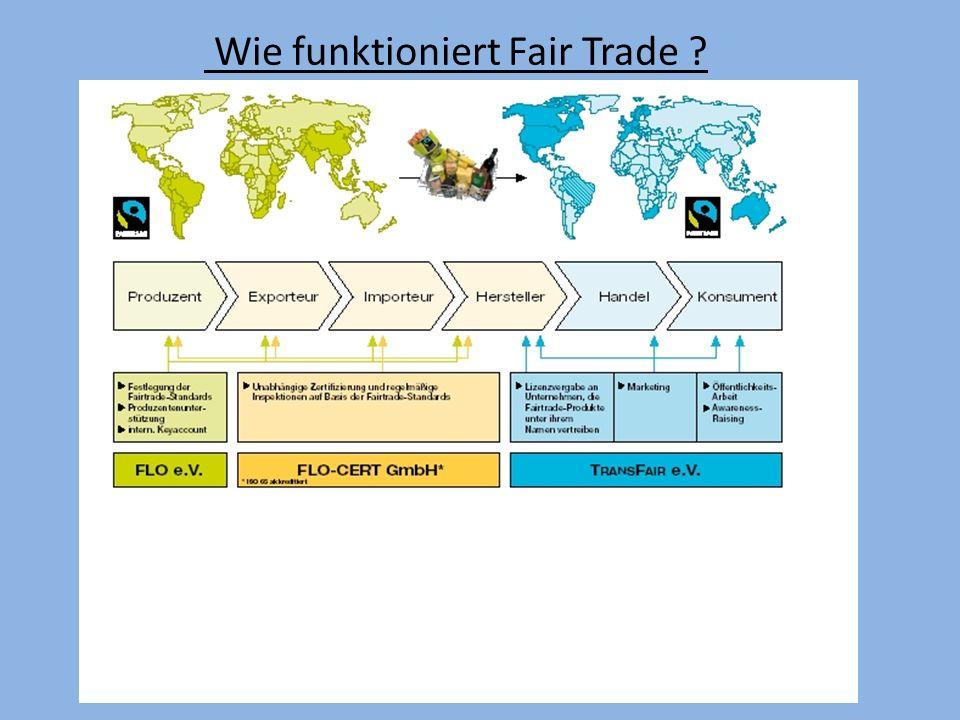 International Mehr als 1,2 Millionen Produzenten und Arbeiter in rund 60 Länder profitieren von Fairtrade.