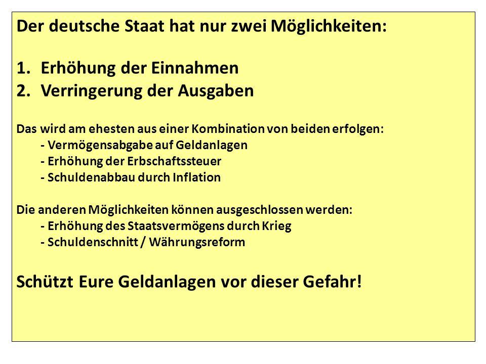http://www.faz.net/artikel/S31501/entwicklung-auf-dem-finanzmarkt-vermoegen-der-deutschen-steigt-um- 220-milliarden-euro-30323753.html Das Geldvermögen der Deutschen liegt bei 4.880 Mrd.