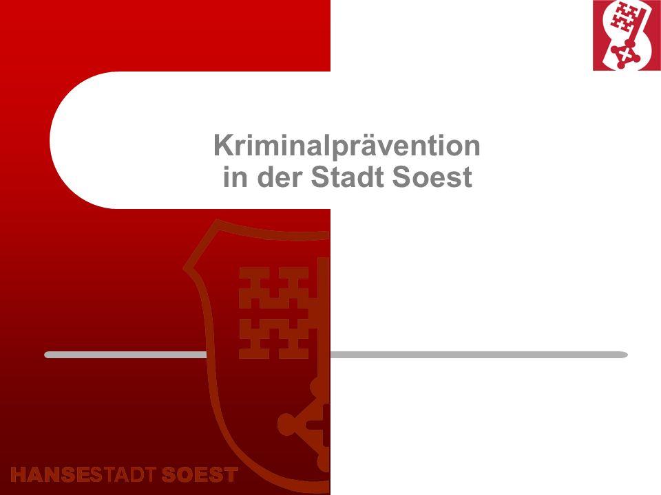 Kriminalprävention in der Stadt Soest