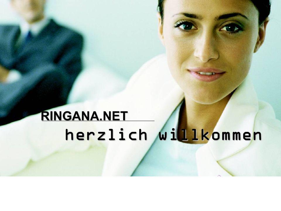 Folie 1 herzlich willkommen RINGANA.NET