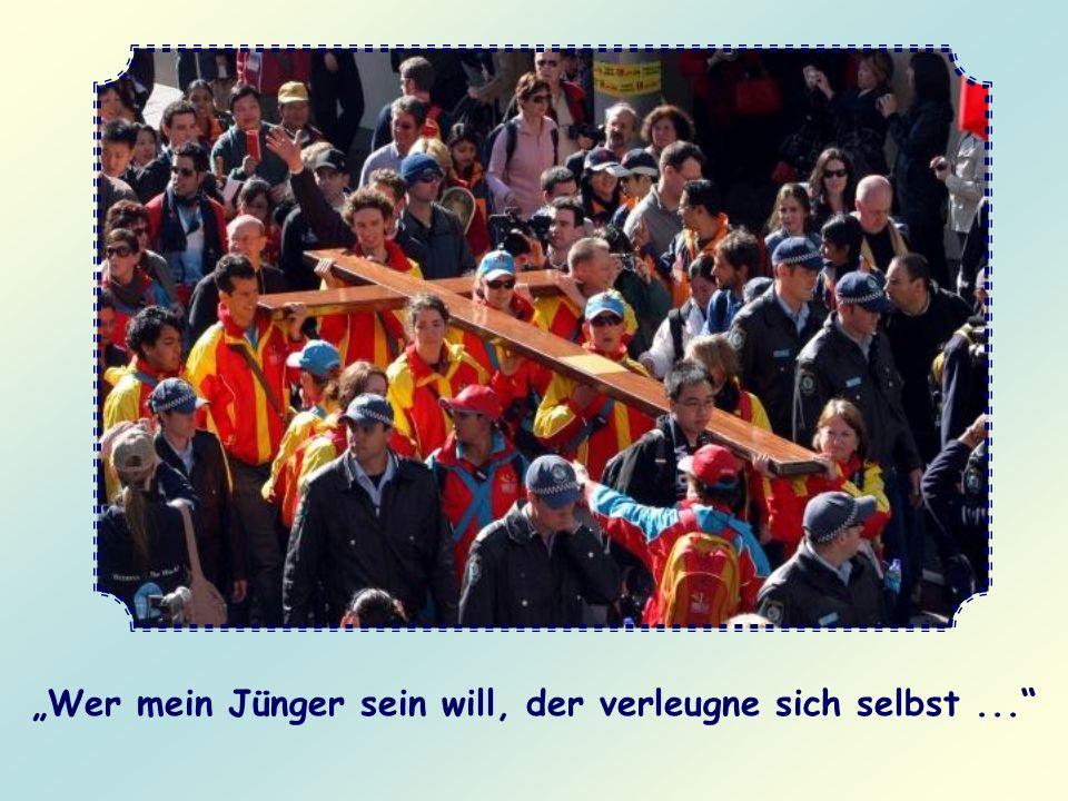 Wohin kannst du ihn setzen? In die Fußstapfen, die dir Christus selbst hinterlassen hat, als er auf dieser Erde wandelte. Dabei helfen seine Worte, mi