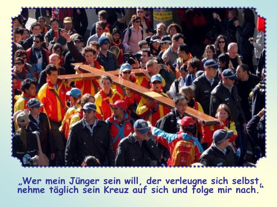 Du wirst niemanden mehr beneiden. Du wirst erfahren, dass das Kreuz schon hier auf Erden zu einer nie gekannten Freude führt. Dein inneres Leben wird