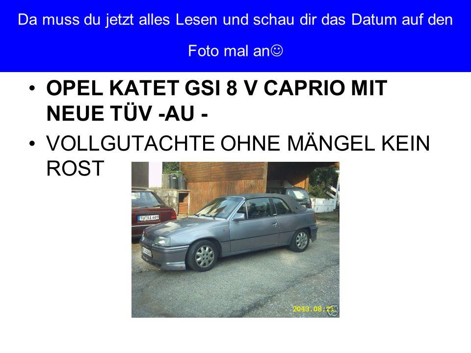 17.10.06 Frage:Hallo! Hat Auto auch krasse ABEES? MfG! Antwort:!!!!!!!!!!!!!!!!!