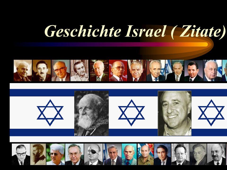 Geschichte Israel ( Zitate)