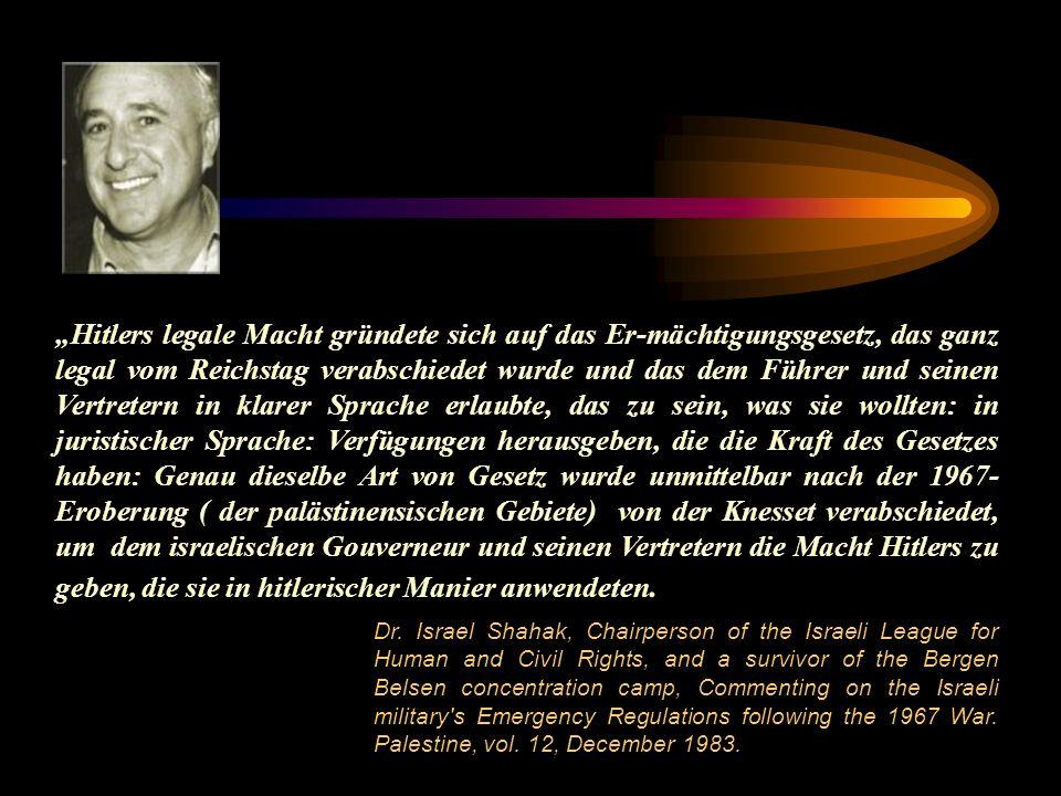 Hitlers legale Macht gründete sich auf das Er-mächtigungsgesetz, das ganz legal vom Reichstag verabschiedet wurde und das dem Führer und seinen Vertre