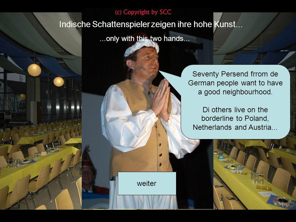 Bühne frei... weiter Oder sich ein regierender Ober-Burger-König in den Schlaf wiegt...