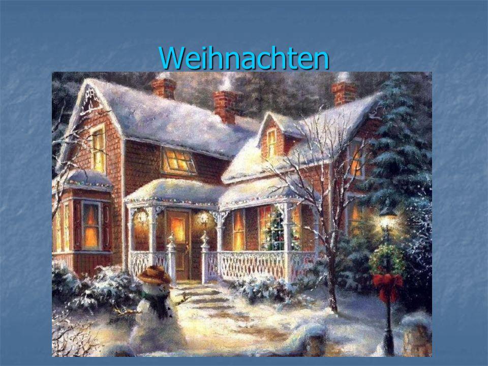 Weihnachten ist das grösste Fest der Christen aller Welt.