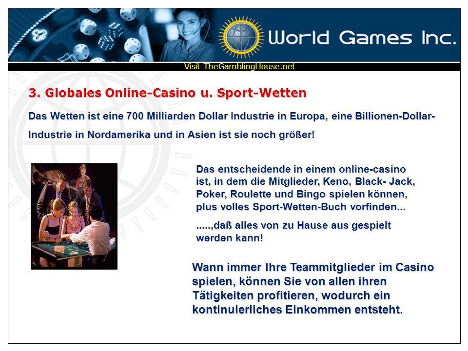 1. Globale Online-Lottery– Sweepstakes-8 Stellen Sie sich die Größe einer GLOBALEN Lotterie vor, in dem 26 Mitglieder, jede Woche, gewinnen! Fünf Prei