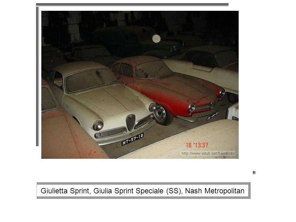 Giulietta Sprint, Giulia Sprint Speciale (SS), Nash Metropolitan