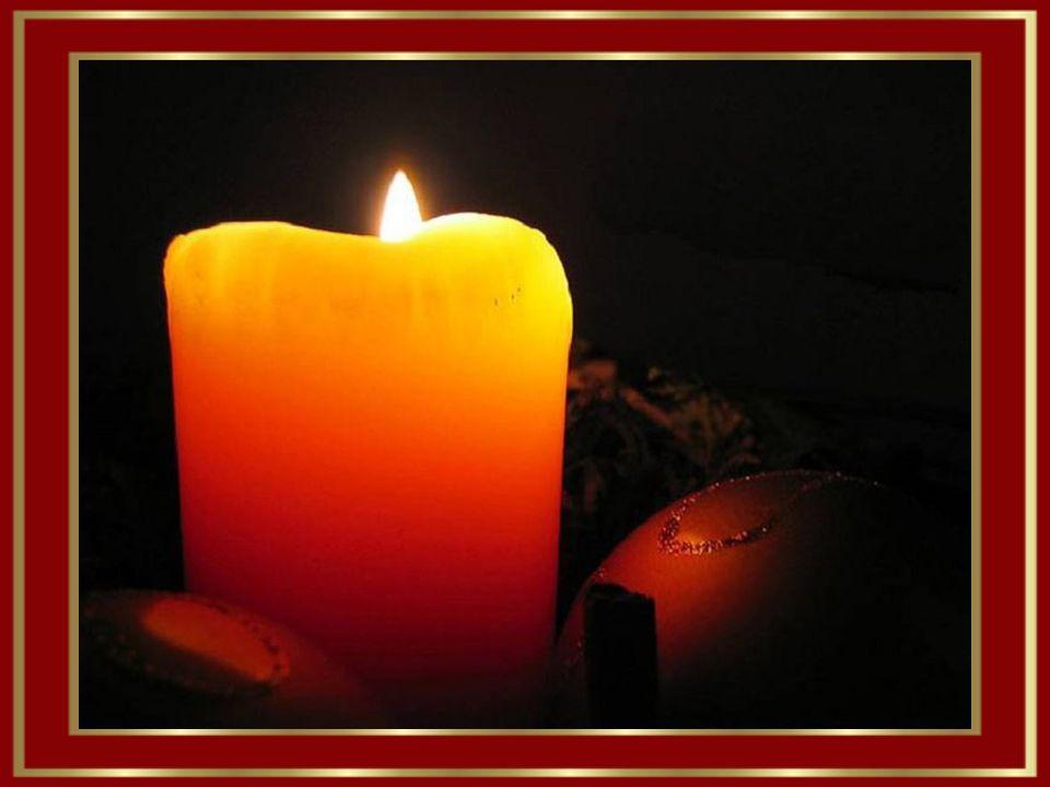 Nun leuchten wieder die Weihnachtskerzen und zaubern Freude in alle Herzen.