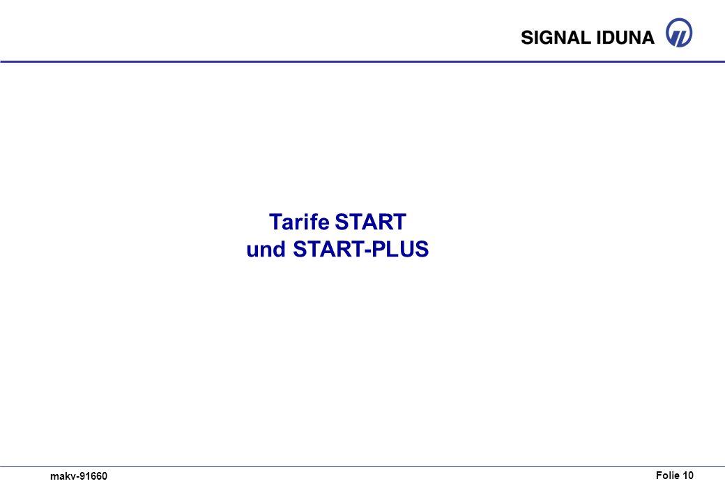 Folie 10 makv-91660 Tarife START und START-PLUS