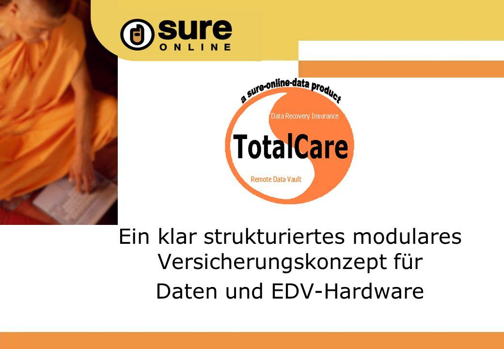 Ein klar strukturiertes modulares Versicherungskonzept für Daten und EDV-Hardware