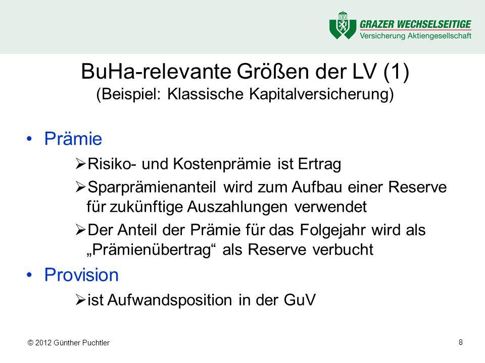 © 2012 Günther Puchtler 19 Profittesting (1)