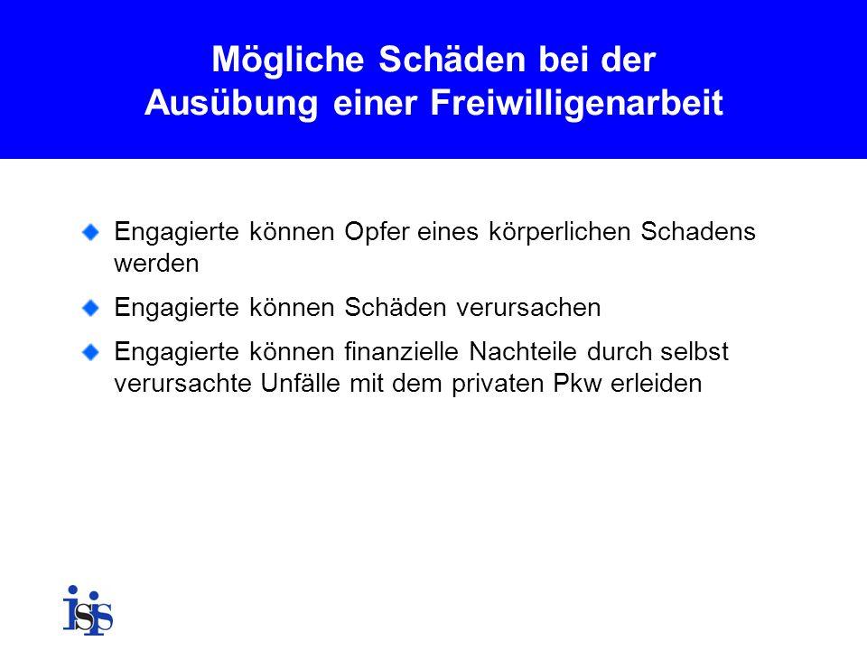 Hessischer Sammelvertrag Voraussetzungen: Die Tätigkeit findet in einer rechtlich unselbstständigen Vereinigung oder in einem kleinen e.V.