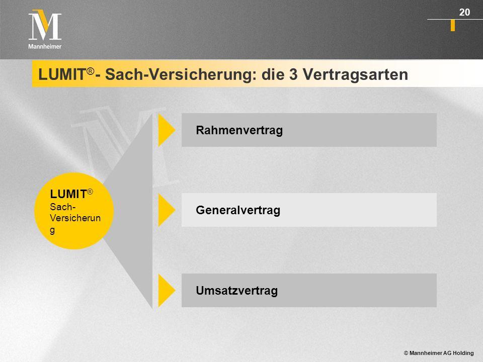 © Mannheimer AG Holding 21 Mit dem Rahmenvertrag treten Sie gegenüber Ihren Kunden als professioneller Berater in allen Fragen rund um den Versicherungsschutz auf.